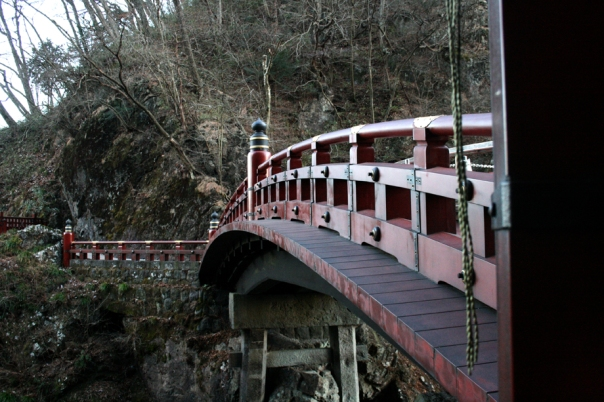 The bridge in front of Toshogu