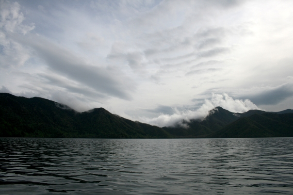 The mountains from Chuzenji lake