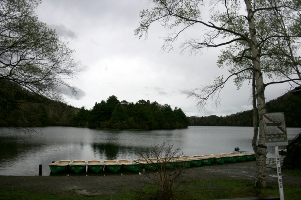 The lake at Okunikko