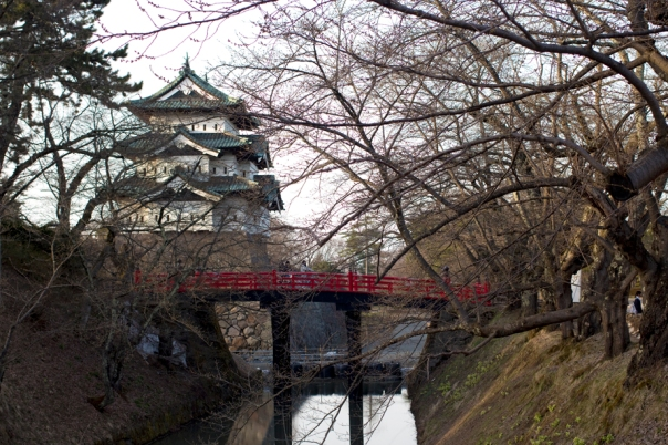 The usual shot of Hirosaki Castle