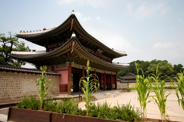 Donhwamoon, the main gate to the palace.