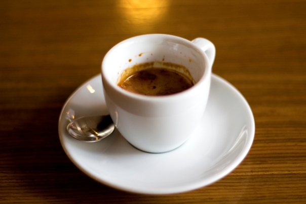 It's actually really difficult to take pictures of espresso.